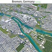 Бремен в Германии 3d model