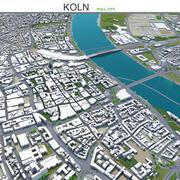 Koln Colonia in Germania 3d model