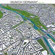 Мюнхен в Германии 3d model
