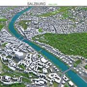 Salzburg Austria 3d model