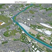 Штутгарт в Германии 3d model