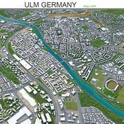 Ульм в Германии 3d model