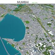 Cidade de Mumbai na Índia 3d model