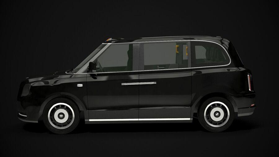 London Black Cab e Double Decker royalty-free 3d model - Preview no. 1
