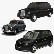 Coleção London Taxi Cab 3d model