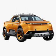 Futurystyczny Pickup 3d model