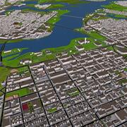 오타와 ON City of Canada CA 3d 모델 3d model