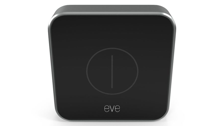 Eve Button Connected Home Remote royalty-free 3d model - Preview no. 5