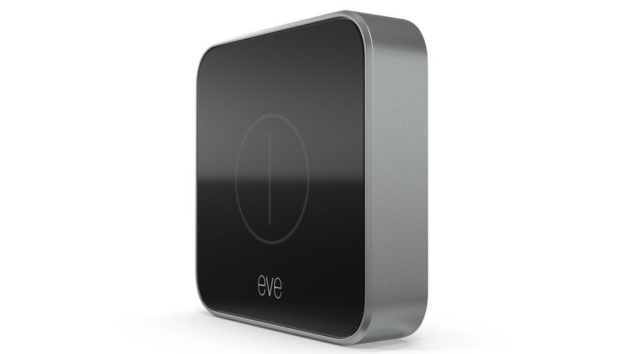 Eve Button Connected Home Remote royalty-free 3d model - Preview no. 6