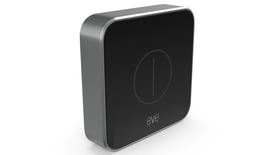 Eve Button Connected Home Remote royalty-free 3d model - Preview no. 4