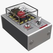 Handheld Detonator 3d model