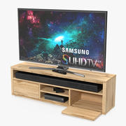 Mobile porta TV moderno 3d model