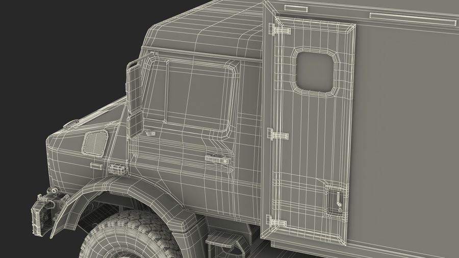 Off Road Vehicle royalty-free 3d model - Preview no. 34