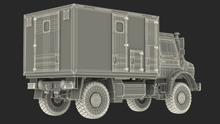 Off Road Vehicle royalty-free 3d model - Preview no. 31