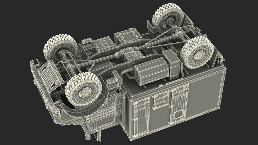 Off Road Vehicle royalty-free 3d model - Preview no. 40