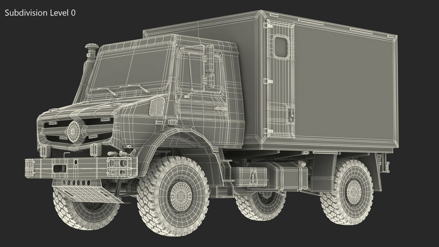 Off Road Vehicle royalty-free 3d model - Preview no. 23