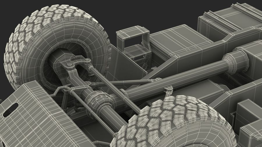 Off Road Vehicle royalty-free 3d model - Preview no. 42