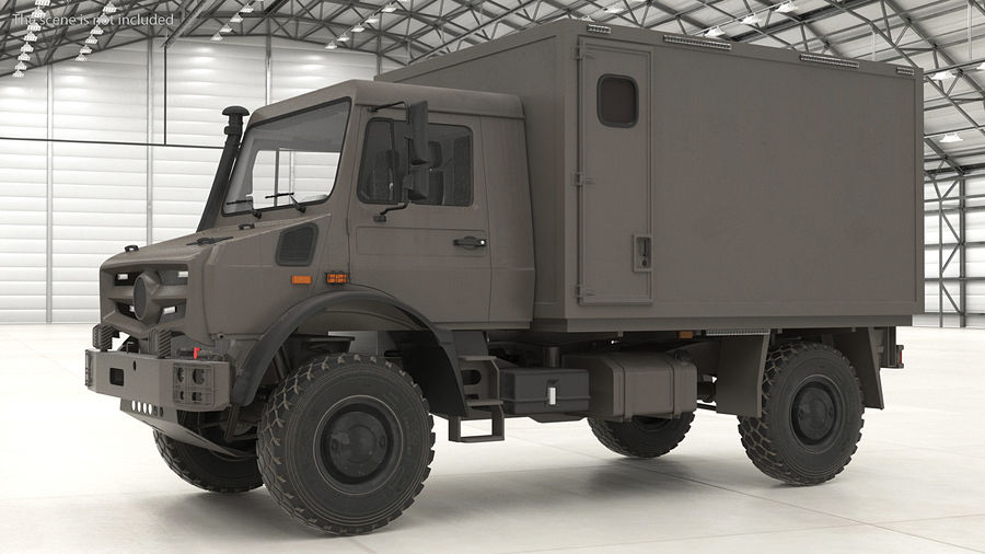 Off Road Vehicle royalty-free 3d model - Preview no. 3