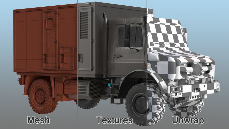 Off Road Vehicle royalty-free 3d model - Preview no. 22