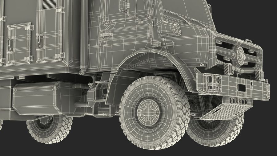 Off Road Vehicle royalty-free 3d model - Preview no. 32