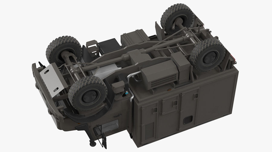 Off Road Vehicle royalty-free 3d model - Preview no. 19