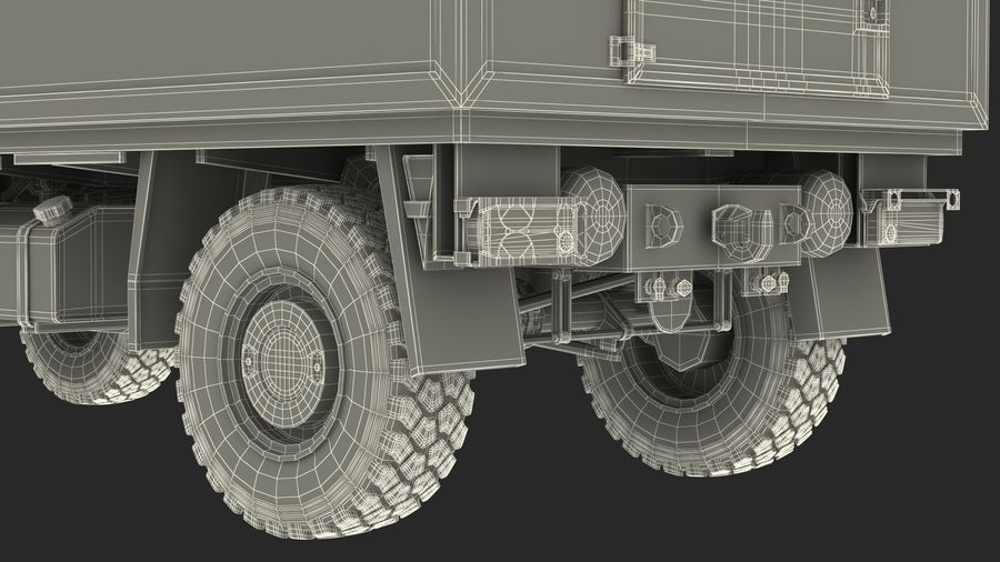 Off Road Vehicle royalty-free 3d model - Preview no. 39