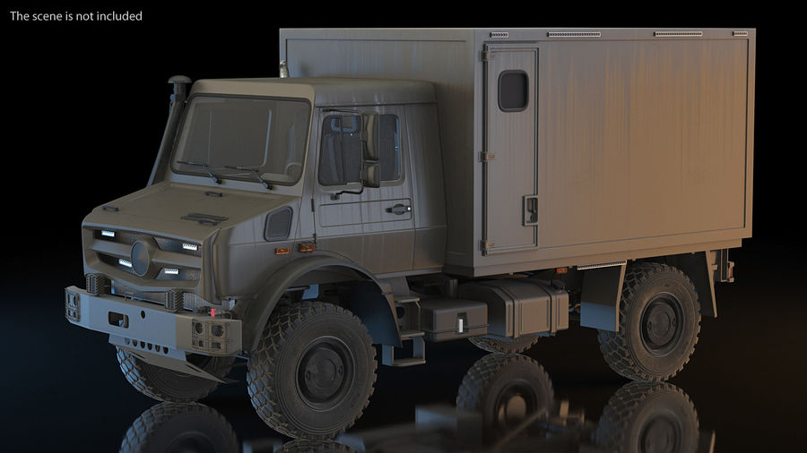 Off Road Vehicle royalty-free 3d model - Preview no. 4
