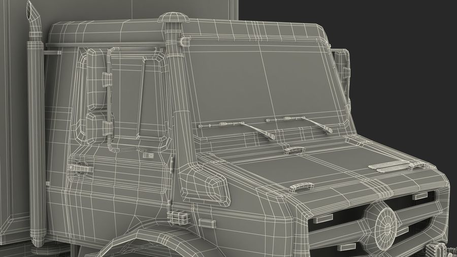 Off Road Vehicle royalty-free 3d model - Preview no. 35