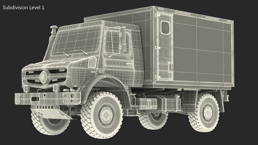 Off Road Vehicle royalty-free 3d model - Preview no. 24