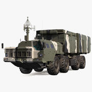 S300 Flap Lid B Tracking and Missile Guidance Radar Camo 3d model