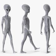 Инопланетянин для Майи 3d model