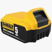 DEWALT DCB205 20V MAX XR 5Ah bateria de íons de lítio 3d model