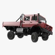 Off Road Cargo Truck attrezzato 3d model