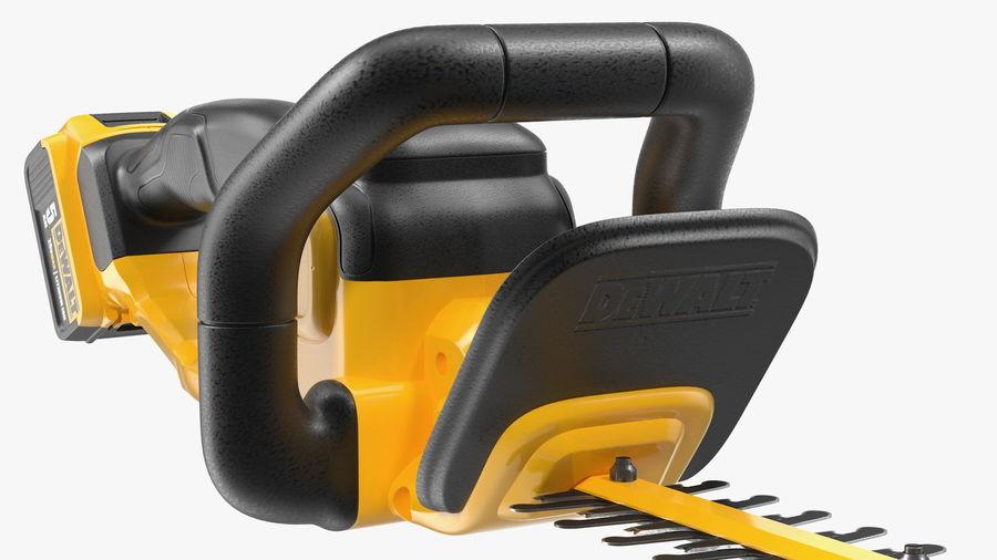 DEWALT DCHT820P1 20V aparador de sebes com pacote 5Ah royalty-free 3d model - Preview no. 10