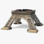 Pijlers van de Eiffeltoren 3d model