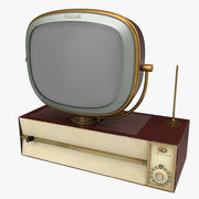 Retro 1959 Philco Predicta Princess Swivel TV 3d model