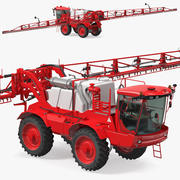 Self Propelled Crop Sprayer 3d model
