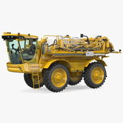 Self Propelled Crop Sprayer Clean 3d model