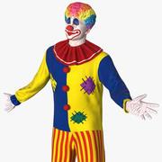 小丑服装索要莫多 3d model