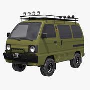 Suzuki Carry 4x4 3d model