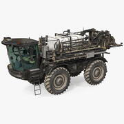 Self Propelled Crop Sprayer Dirty 3d model