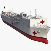 USNS Mercy T AH 19 Krankenhausschiff 3d model