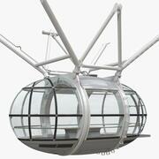 観覧車旅客カプセル 3d model