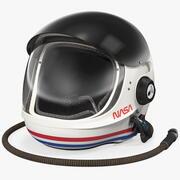 NASA Launch Entry Helmet 3d model