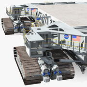 NASA Missile Crawler Transporter-faciliteiten 3d model