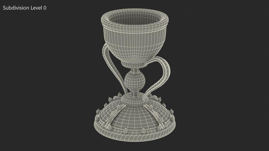 성배 컵 royalty-free 3d model - Preview no. 12
