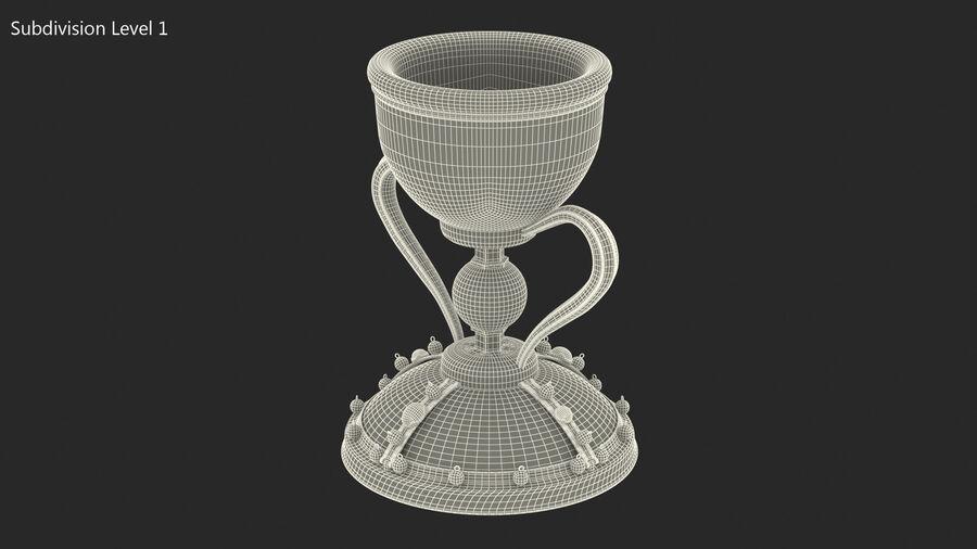 성배 컵 royalty-free 3d model - Preview no. 13