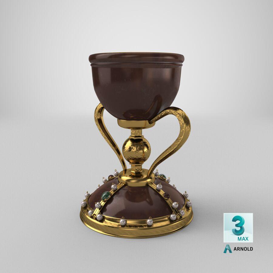 성배 컵 royalty-free 3d model - Preview no. 20