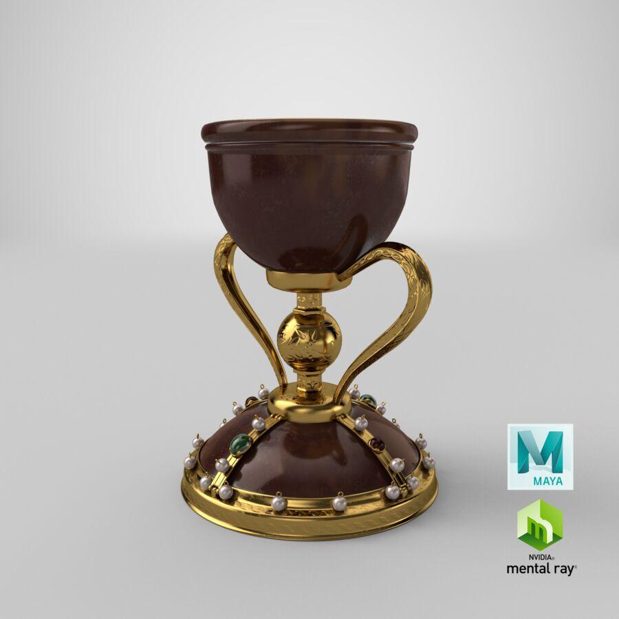 성배 컵 royalty-free 3d model - Preview no. 24