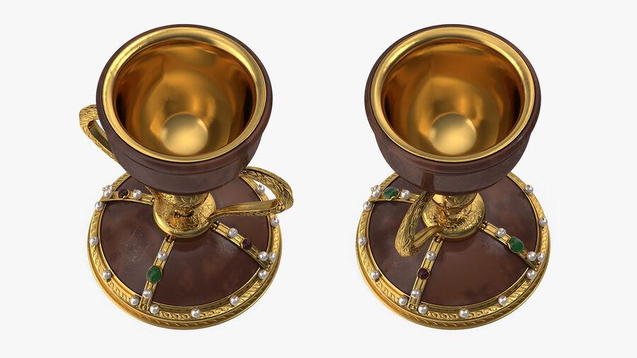 성배 컵 royalty-free 3d model - Preview no. 6